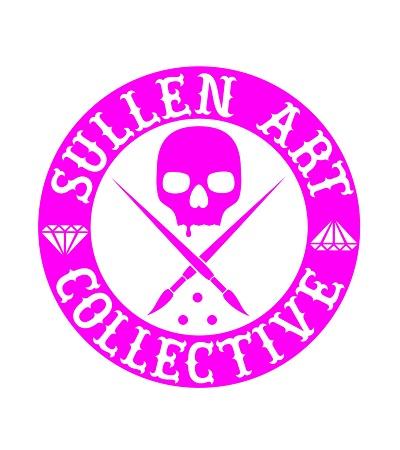 Sullen Clothing Switzerland online shop for tattoo artist and fan equipement shirt lanyard wallet kleider bag tasche Sullen Art Collective Die Cut gross pink