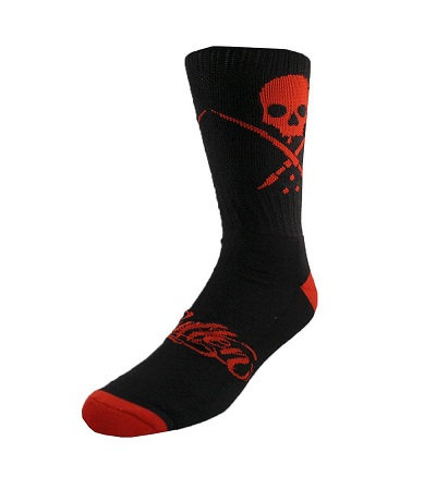 Standard Socks black red Sullen Clothing Switzerland online shop for tattoo artist and fans equipement shirts lanyard wallet kleider Socks schwarz rot