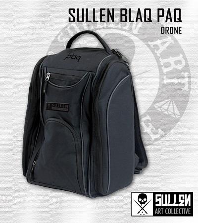 Drone Rucksack Backpack Sullen Clothing Switzerland online shop for tattoo artist and fans equipement shirts bag tasche men frauen women blaq paq onyx bag