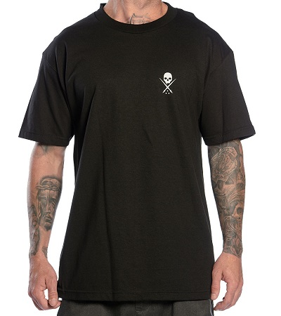 Standard Issue Sullen Clothing Switzerland cap hat tshirt t-shirt tank top shirt skull badge muerta catarina ink tattoo bullets carbon black white blk