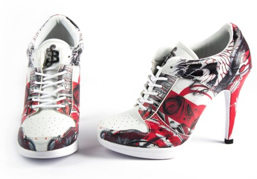 Knowledge is Passion High Sneaker Sullen Clothing Switzerland www.sullen.ch