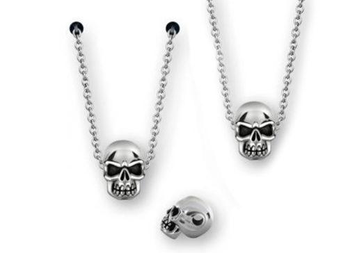 Skull in Silber Jewerly Piercing Sullen Clothing Swiss Switzerland Accessoire Ear Helix Lobe Life Love Happy Woman Man Mann