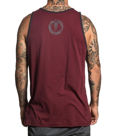 Badge of Honor Tank SCM1887 Sullen Clothing Swiss Switzerland Bur