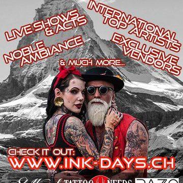 Ink Days in Zürich Regensdorf Besucht uns doch am Wochenende. Sullen Clothing Swiss Switzerland und Yakuza wir freuen uns auf euch.