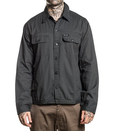 Tombstone Flannel Jacket SCM2137 Sullen Clothing Switzerland